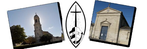 Eglise St Martial et paroisse Bassins à Flots
